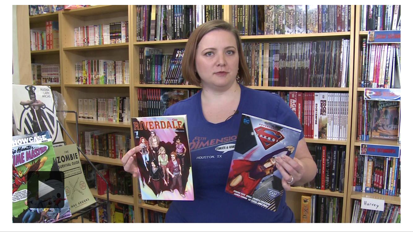 CW39 Newsfix story on 8th Dimension Comics & Games